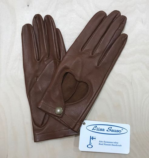 Copy of Driver gloves, brown